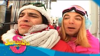 Samantha Oups ! Samantha au ski (partie 1)