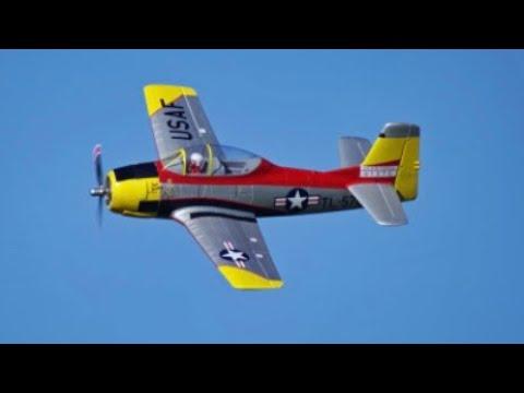 Arrows RC T-28 Trojan First Flights