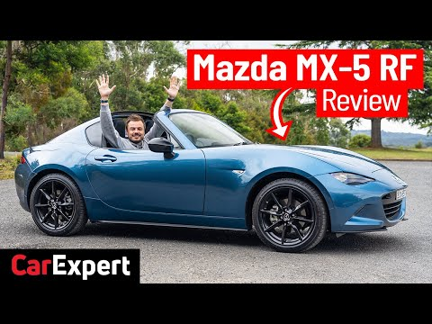 2020 Mazda MX-5 (Miata) RF: We review the MORE powerful MX-5. Will it change my mind?   CarExpert 4K