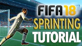 Video KEY TO ATTACKING IN FIFA 18!! - Fifa 18 Sprinting Tutorial – WHEN TO SPRINT download MP3, 3GP, MP4, WEBM, AVI, FLV Juni 2018