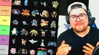 Pokémon GO Best GYM DEFENDER TIER LIST