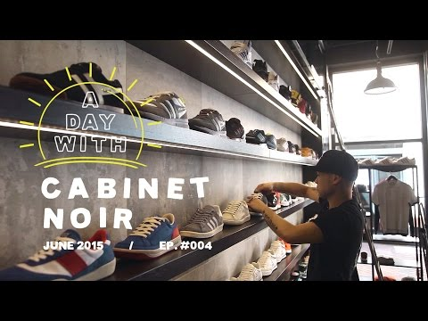 A Day With: Cabinet Noir, a premium sneaker & apparel store in Western Australia