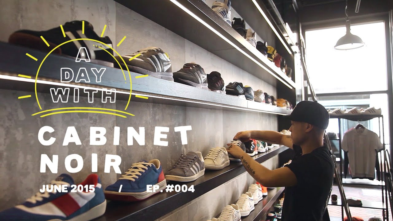 A Day With: Cabinet Noir, A Premium Sneaker U0026 Apparel Store In Western  Australia   YouTube