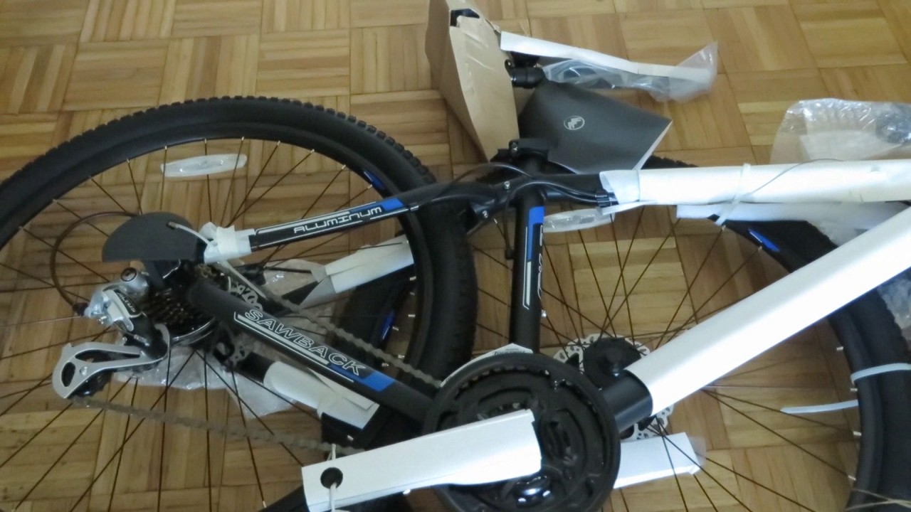 Unpack And Assemble The Forge Sawback 7xx Mountain Bike Youtube
