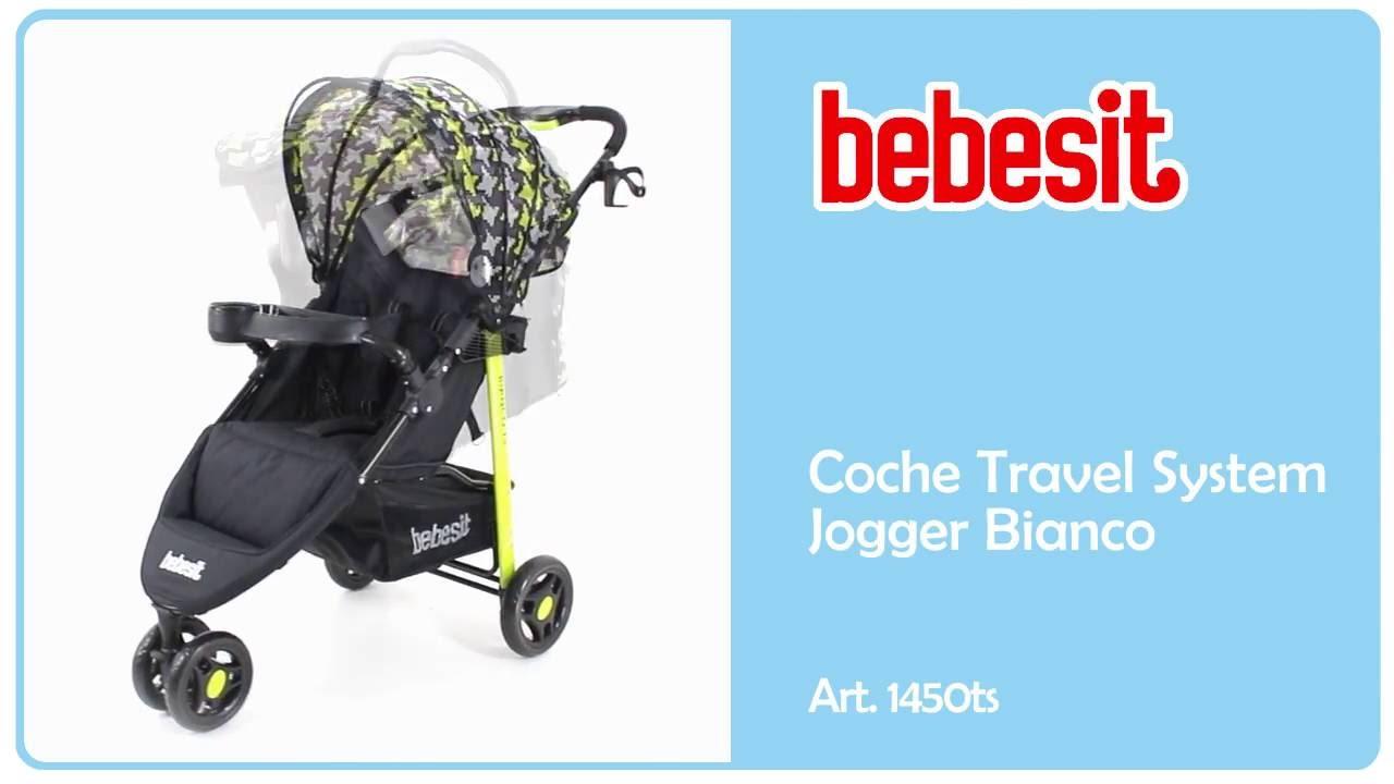 fecaca9f2 Bebesit -Coche Bianco 1450ts - YouTube