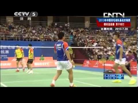 2013 World Championships China Preparation match Cai yun /Fu hai feng【VS】Shen Ye /Hong wei