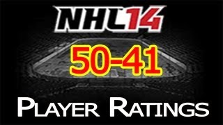 NHL 14 Player Ratings: Top 50 Players | 50-41 Thumbnail