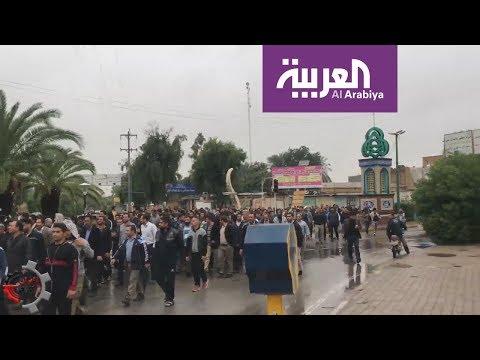 تظاهرات عمالية واسعة تشعل الأحواز  - 18:53-2018 / 11 / 17