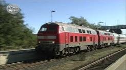 Baureihe 218 im IC Dienst nach Westerland