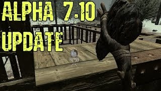 7 Days To Die Alpha 7.10 Update - Survival Pvp Mode, Upgradeable Blocks, Building Frames, Locking!