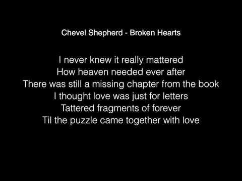 Chevel Shepherd - Broken Hearts Lyrics ( The Voice US winner original song )