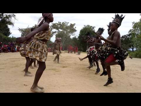Traditional Dance. Muzokomba Primary School, Zimbabwe