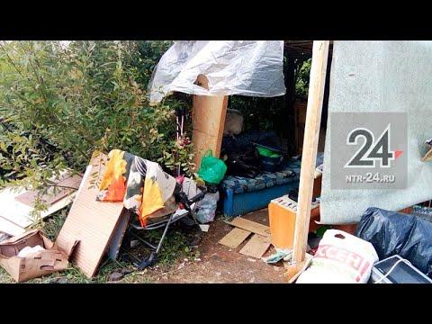В Нижнекамск полиглот-саксофонист живет в шалаше