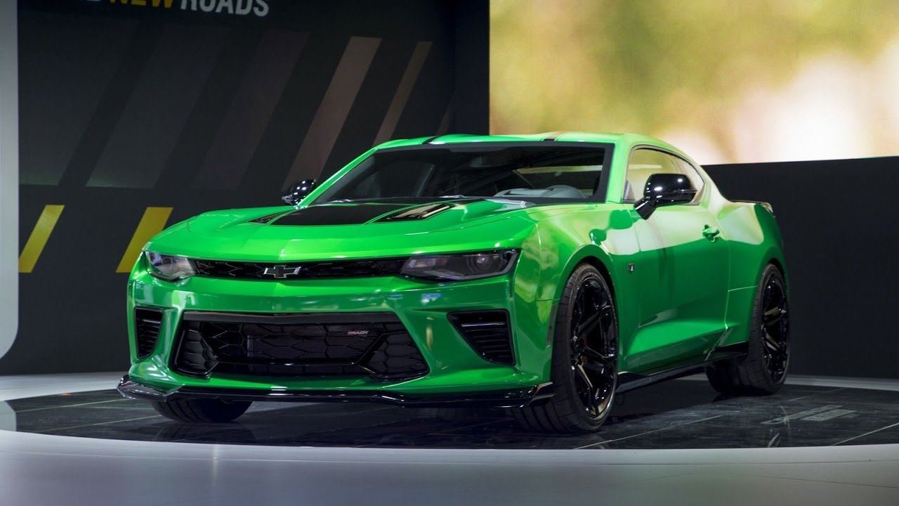 New 2018 Chevrolet Camaro Track Concept Brings 1LE Package ...