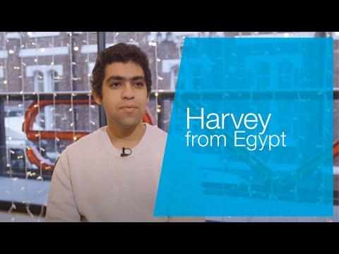 Harvey from Egypt    Liverpool John Moores University ISC