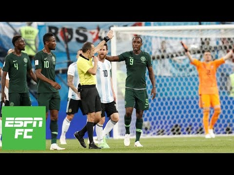 Argentina vs. Nigeria analysis: Just what is a handball anyway? | ESPN FC