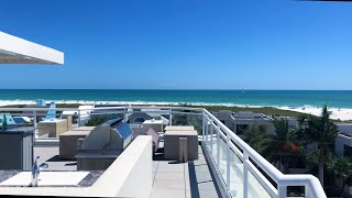 $2,495,000 | Siesta Key Penthouse Condo For Sale with Roof Top Bar, Hot Tub and Gulf Views!