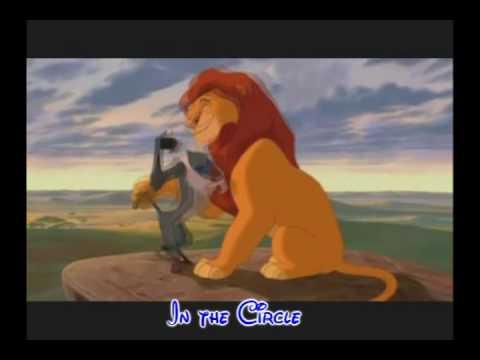 Lion King 1 Circle Of Life Lyrics Youtube