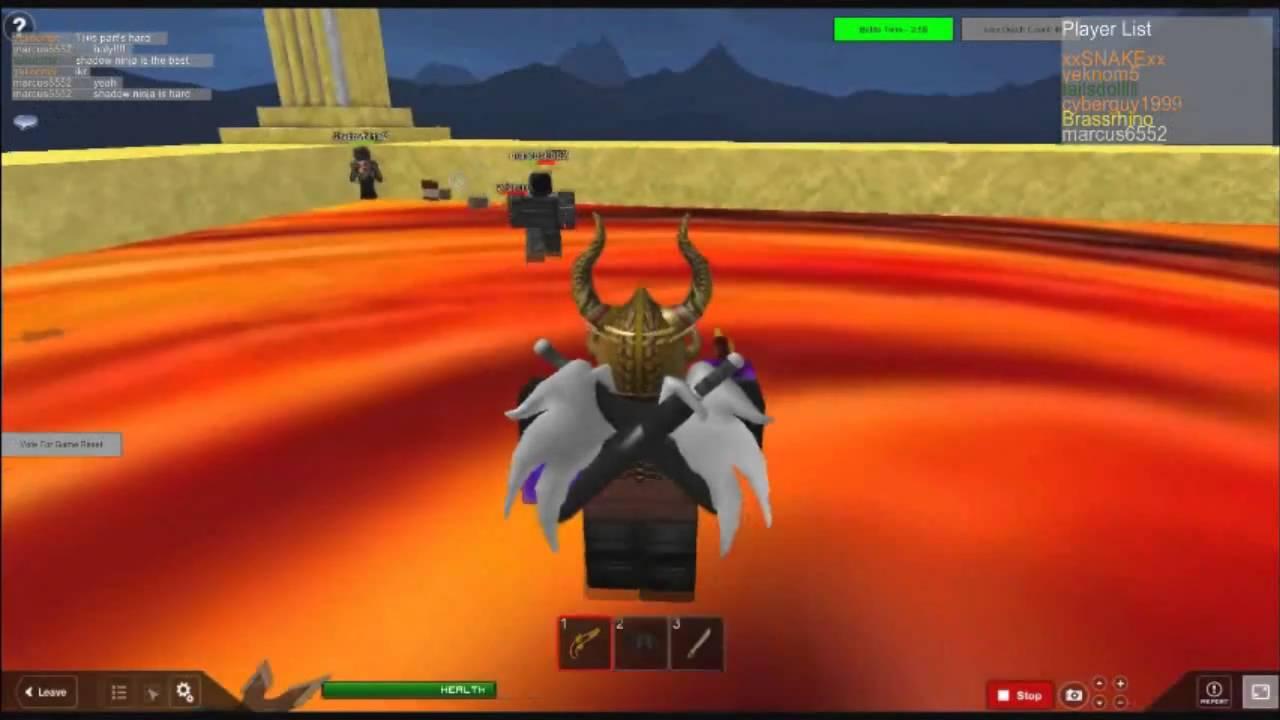 ROBLOX Temple of the Ninja Masters