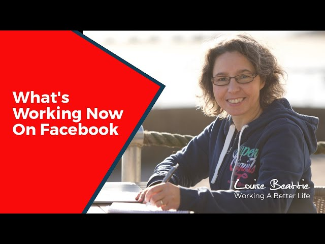 What's working now on Facebook right now