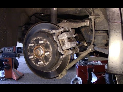 How To Replace Rear Brake Pads And Rotors 2014-2018 Infiniti Q50