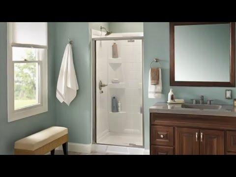 Delta Pivot Shower Door Installation Youtube