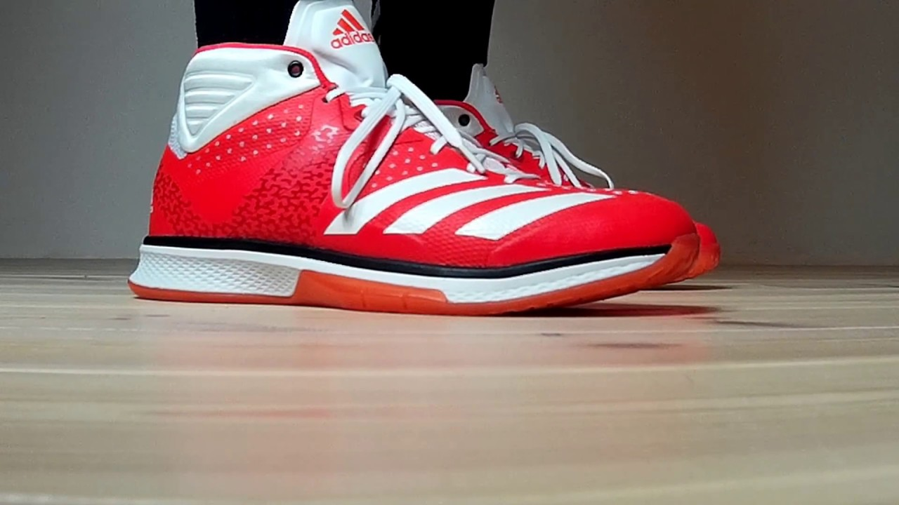 new product 56f45 e475f ... good adidas counterblast mid handballschuhe solar red 2017 badba a4578