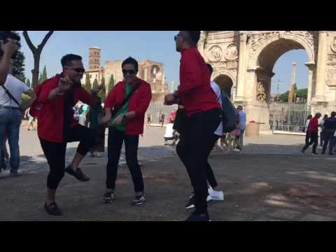 Trending Topic JAFRA MAN DANCE IN ROMA 2016