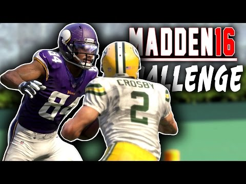 Can Cordarrelle Patterson Force Mason Crosby To Fumble? Madden 16 NFL Challenge