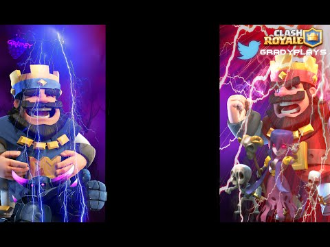Clash Royale Speed Art Grapeys Overlay Youtube