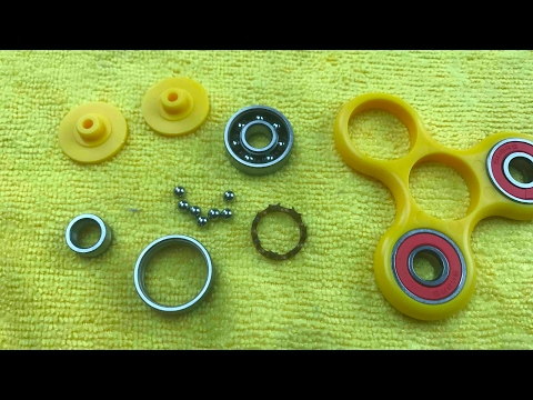 Thumbnail: Tear Down Hand Spinner Bearings and Balls Clean Them & Put Back Together