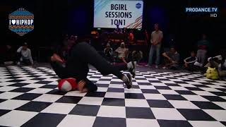 Paulina vs Kami   B girl Semi Final   I Love Hip Hop