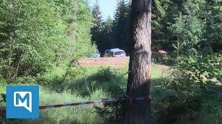 Fall Peggy Knobloch : In diesem Waldstück wurden Skelett-Teile gefunden