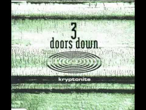 3 Doors Down - Kryptonite (guitar backing track with vocals)