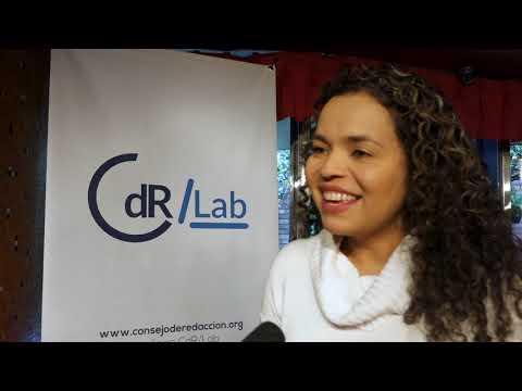 Lanzamiento guía Pistas para cubrir la implementación del acuerdo de paz, entrevista Ginna Morelo.