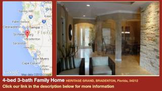 4-bed 3-bath Family Home for Sale in Bradenton, Florida on florida-magic.com