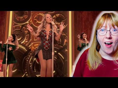 Vocal Coach Reacts to Mariah Carey 'Oh Santa!' ft.  Ariana Grande, Jennifer Hudson