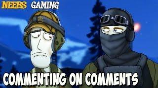 BFFs Commenting on Comments - Doraleous is a BITCH thumbnail
