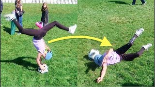 SOCCER FLIP THROW IN FAIL and KIDS FIRST SOCCER GAMES of the YEAR!