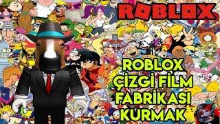 Nous construisons notre propre usine de dessin animé Roblox 📺 📺 . Cartoon Tycoon - France Roblox Anglais