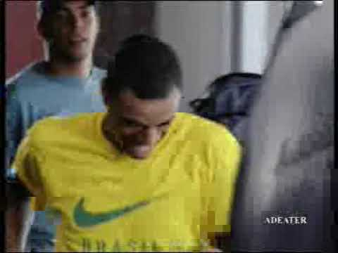 Funny Commercial Nike Brazil Football in Airport