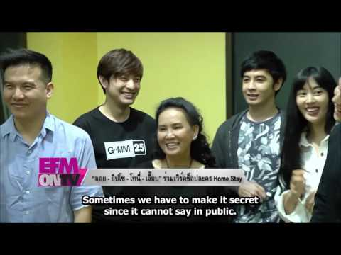"""[EngSub] Interview Doctor Jeab 's new drama """" HomeStay"""""""