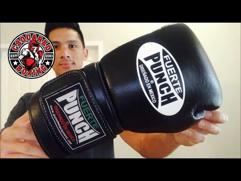 Punch Equipment Fuerte Elite Mexican Style Boxing Glove REVIEW- THE COMFORTABLE MEXICAN STYLE GLOVE!