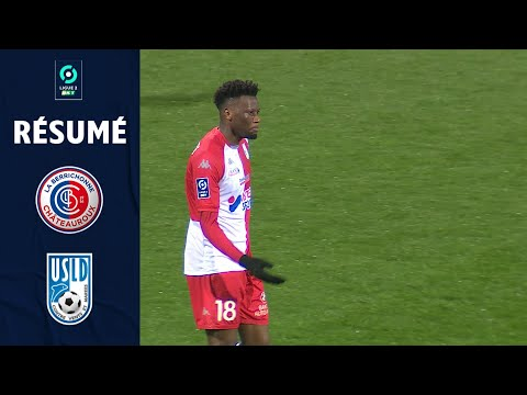 Chateauroux Dunkerque Goals And Highlights