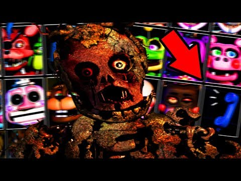 A *NEW* PHONE GUY REVEALED.. | Five Nights at Freddys 6 ULTIMATE Custom Night