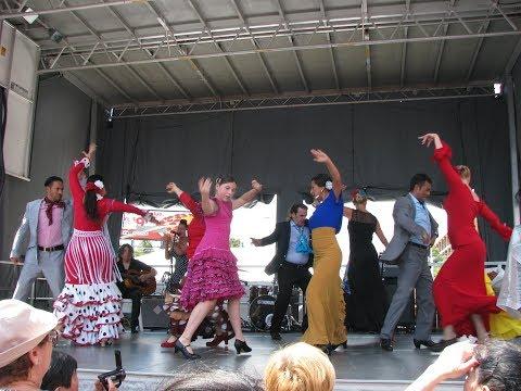 Flamenco at Greektown's  2017 Taste of the Danforth