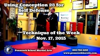 Penacook School Martial Arts/Using Nerves On The Ground