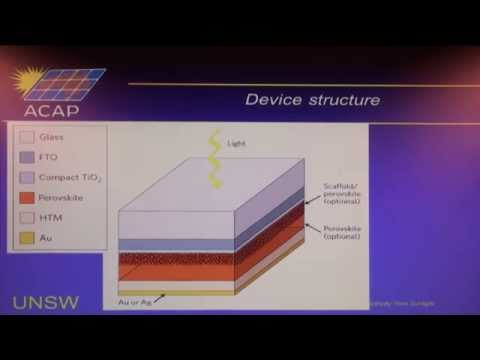 UNSW SPREE 201407-10 Martin Green - Emergence of Perovskite