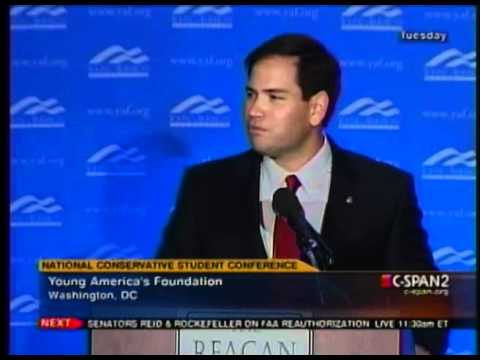 Sen. Rubio Addresses The 2011 National Conservative Student Conference