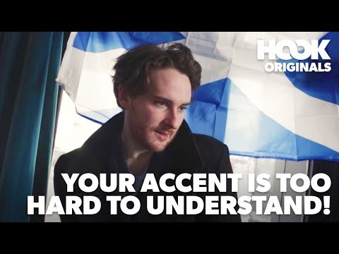 When The Accent Is Way Too Hard To Understand   BURNS NIGHT COMEDY SKETCH   The Hook